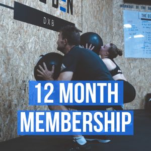 12-month Contract : 16 classes per month